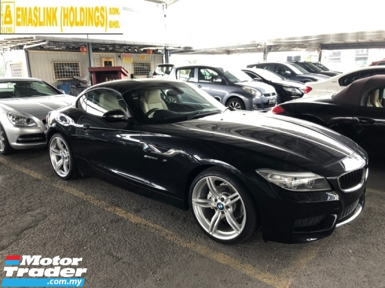 2015 BMW Z4 M Sport sDrive 2.0 Twin-Power-Turbo 8-Speed Convertible Hard Top BMW i-Drive Interface Multi Function Paddle Shift Steering Sport Plus/Eco Pro Dual Climate Control Bi-Xenon Park Assist Reverse Camera Bluetooth Connectivity Unreg