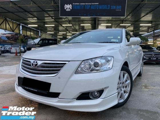 2008 TOYOTA CAMRY 2.4V = FULL SPEC= EXTENDED WARRANTY=  REVERSE CAM= DISPLAY SCREEN= TIP TOP CONDITION= YEAR END OFFER= XMAS OFFER= CNY OFFER