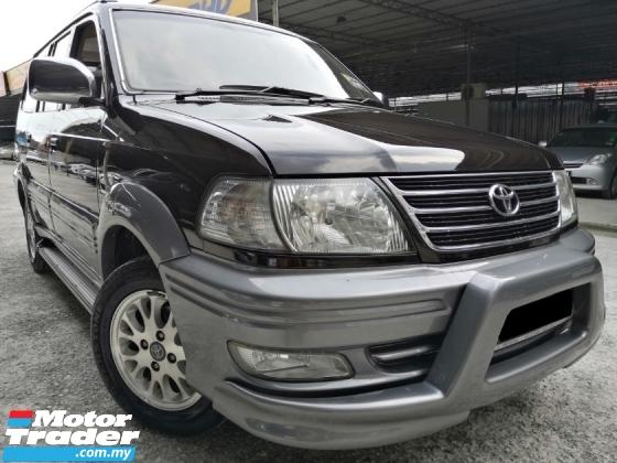 2004 TOYOTA UNSER Toyota Unser 1.8 MT LGX NEW FACELIFT 1 OWNER OWNER