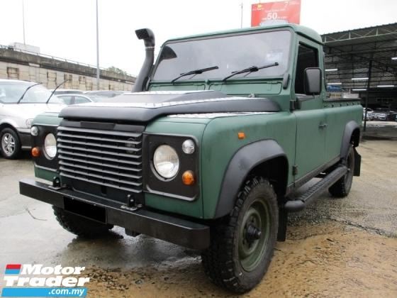 1995 LAND ROVER DEFENDER 110SW (M) Diesel 4x4