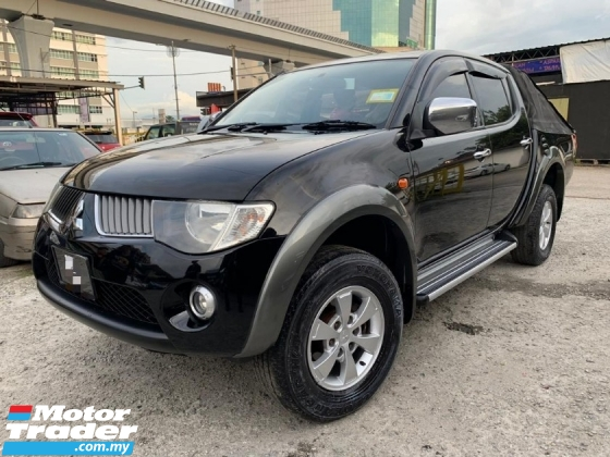 2008 MITSUBISHI TRITON 2.5 AT DIESEL TURBO / 4WD /  CANOPY / ORI YEAR MAKE 2008 / TIPTOP CONDITION / LOW DOWN PAYMENT
