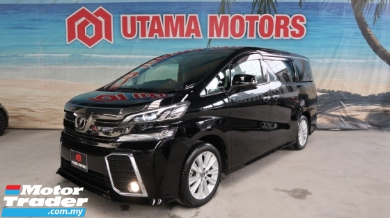 2016 TOYOTA VELLFIRE 2.5 ZA ROOF MONITOR 7 SEATER YEAR END SALE SPECIAL FAST APPROVAL
