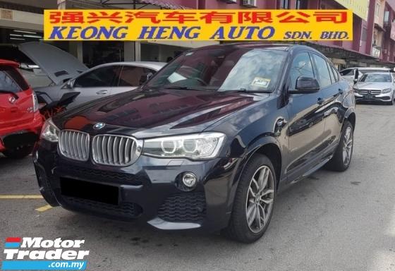 2016 BMW X4 2.0 XDRIVE 28i (CKD Local Spec)