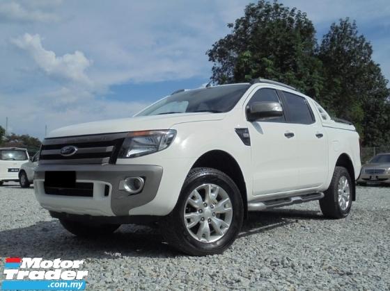 2014 FORD RANGER 3.2 Wildtrak 4x4 XLT TDCi 6-Speed Facelift LikeNEW
