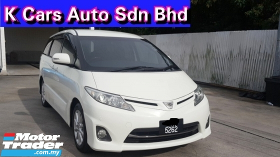 2012 TOYOTA ESTIMA ACR50 2.4 AERAS G PACKAGE Facelift Doctors Owner Family Weekend Car Excellent Condition No Repair Need Worth Buy