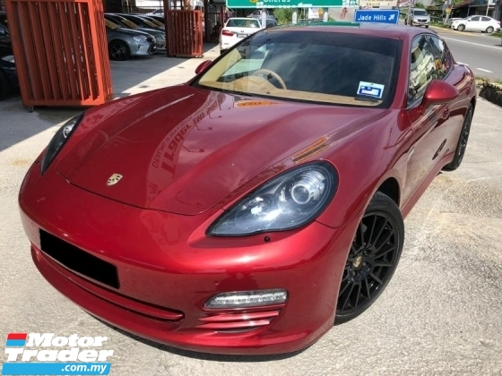 2011 PORSCHE PANAMERA PANAMERA 4 PDK LOCAL SPEC UNDER WARRANTY ONE MALAY OWNER LIKE NEW CAR CONDITION