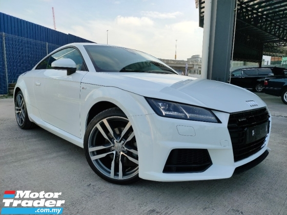 2016 AUDI TT 2016 Audi TT 2.0 TFSI Quatro S Tronic Facelift UK Spec Unregister for sale