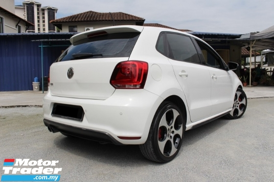 2012 VOLKSWAGEN POLO GTI 1.4 TSI (A) (Ori Year Make 2012)(1 Year Warranty)(1 Owner)