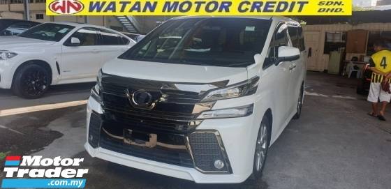2016 TOYOTA VELLFIRE 2.5Z Golden Eyes SUNROOF POWER BOOT SURROUNDING CAMERA SUNROOF NO HIDDEN CHARGES
