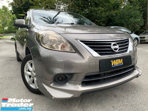 2012 NISSAN ALMERA 1.5 VL IMPUL (A) FULL SEVICE RECORD LIKE NEW TRUE YEAR