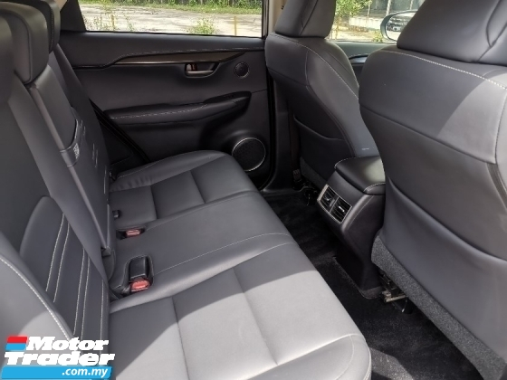 2015 LEXUS NX 200T 2.0 Premium SUV 3 EYE DAYLIGHT BLACK INTERIOR UNREG