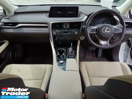 2017 LEXUS RX 200T 2.0 Premium SUV 3 EYE DAYLIGHT/BEIGE INTERIOR/POWER BOOT UNREG