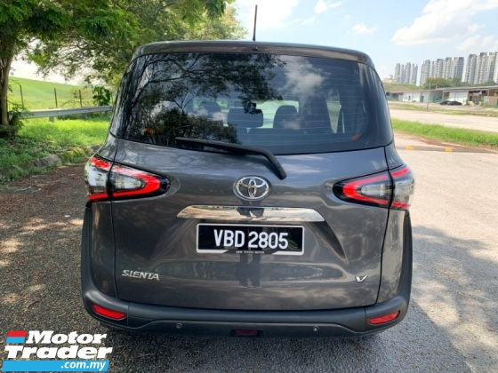 2018 TOYOTA SIENTA 1.5 V (A) 2018 Full Service Record Still Under Warranty 2 Power Door 1 Lady Owner Only TipTop Condition View to Confirm