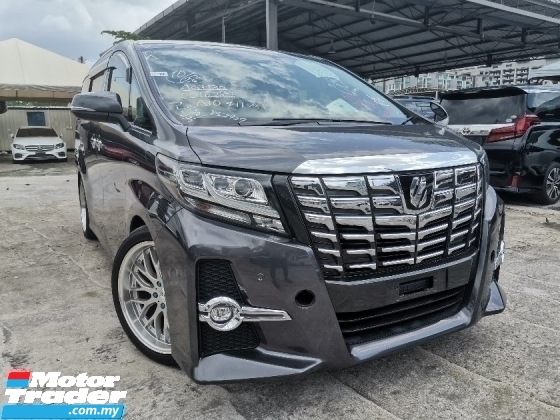 2015 TOYOTA ALPHARD 2.5 SC SPEC PILOT SEATS/2 POWER DOOR/POWER BOOT UNREG