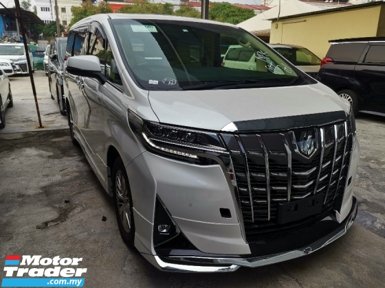 2018 TOYOTA ALPHARD 3.5 Executive Lounge FULL SPEC BLACK INTERIOR ORIGINAL MILEAGE UNREG