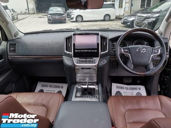 2016 TOYOTA LAND CRUISER 4.6 ZX SUV FULL SPEC ORIGINAL MILEAGE JAPAN SPEC UNREG