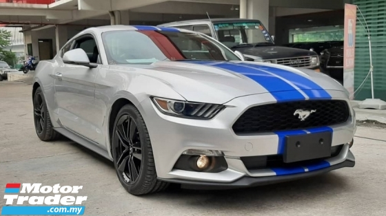 2018 FORD MUSTANG MUSTANG 2.3 ECOBOOST (8563)