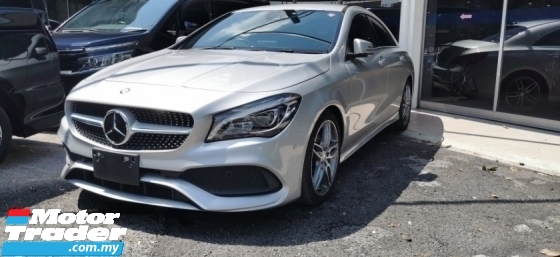 2016 MERCEDES-BENZ CLA 180 AMG SPORT 1.6 / NEW FACELIFT / TIPTOP CONDITION FROM JAPAN