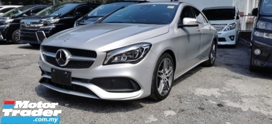 2017 MERCEDES-BENZ CLA 180 AMG SPORT 1.6 / NEW FACELIFT / TIPTOP CONDITION FROM JAPAN / 5 YEARS WARRANNTY UNLIMIT KM