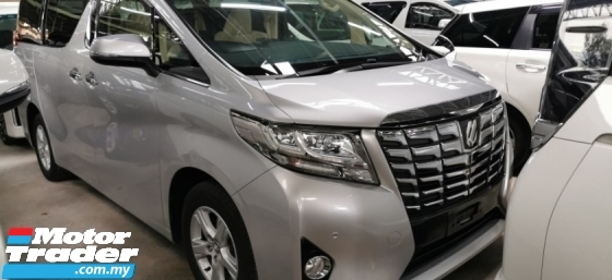 2016 TOYOTA ALPHARD 2.5 X / 8 SEATER / 1 PWR DOOR / TIPTOP CONDITION / OFFER UNIT