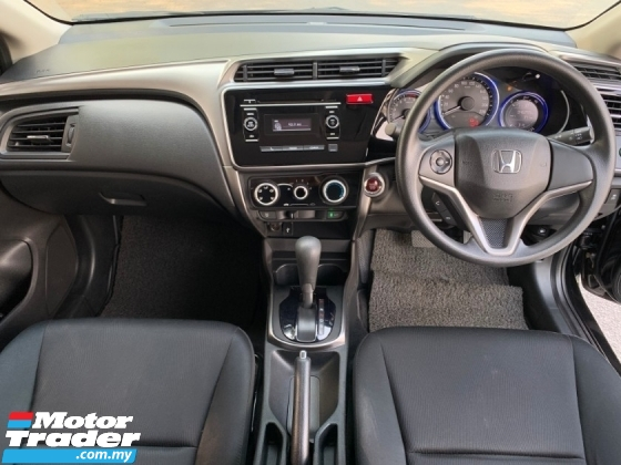 2016 HONDA CITY 1.5 E i-VTEC (A) Full Service Record 1 Owner Only Original Paint TipTop Condition View to Confirm