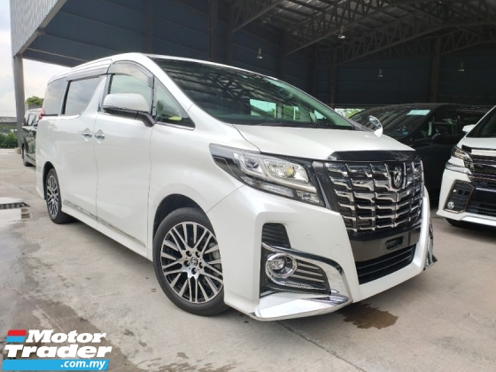 2015 TOYOTA ALPHARD 2015 Toyota Alphard 2.5 SC Sun Roof Pilot Seat Power Boot 2 Power Door Unregister for sale