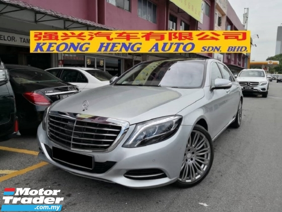 2016 MERCEDES-BENZ S-CLASS S400L CKD TRUE YEAR MADE 2016 MIl 47k km Full Service Hap Seng Hybrid Warranty until 2024