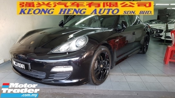 2011 PORSCHE PANAMERA PANAMERA 3.6 V6 (A) REG 2014, ONE OWNER, SPORT CHRONO, POWER BOOT, LOW MILEAGE DONE 74K KM, PADDLE SHIFT, 20\