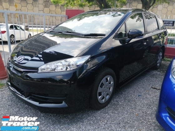 2015 TOYOTA WISH 1.8X/FREE 5 YEARS WARRANTY/OFFER/NON SMOKING