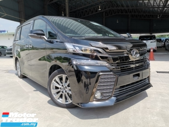 2016 TOYOTA VELLFIRE 2.5 ZA Z Golden Eyes BLACK SPECIAL OFFER UNREG