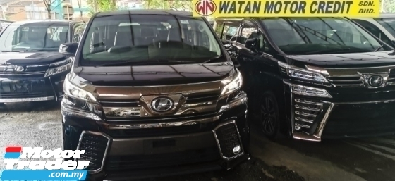 2016 TOYOTA VELLFIRE 2.5 ZG UNREG.FULL FULLSPEC.HALF SST.TRUE YEAR CAN PROVE.SUNROOF.PILOT SEAT.ORI LEATHER N 360 CAMERA