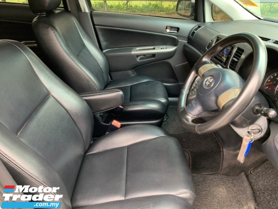 2005 TOYOTA WISH 1.8X MPV (A) Previous Careful Owner Original Leather Seat TipTop Condition View to Confirm