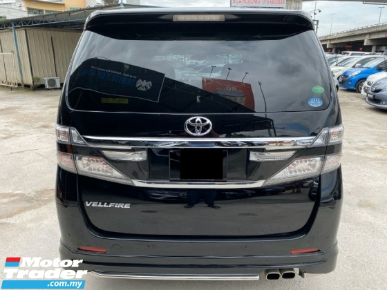 2014 TOYOTA VELLFIRE 2.4 GOLDEN EYES FULL SPEC - REG 2017 - WARRANTY - LIKE NEW - 2 POWER DOOR - POWER BOOT - HALF LEATHER SEAT - END YEAR SALE