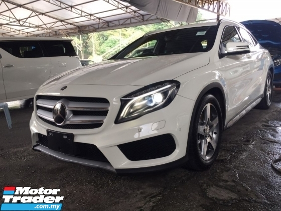 2015 MERCEDES-BENZ GLA 180 AMG UNREG.HALF SST.TRUE YEAR CAN PROVE.JAPAN.FULLSPEC.POWER BOOT.MEMORY SEAT.ORI AMG BODYKIT