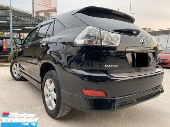 2012 TOYOTA HARRIER 2.4 240G L PACKAGE - HIGH SPEC - SUNROOF - ELECTRIC SEAT - REVERSE CAMERA - LIKE NEW - SUPER CONDITION - WARRANTY - PROMO NAK RAYA 2020 - MUST VIEW