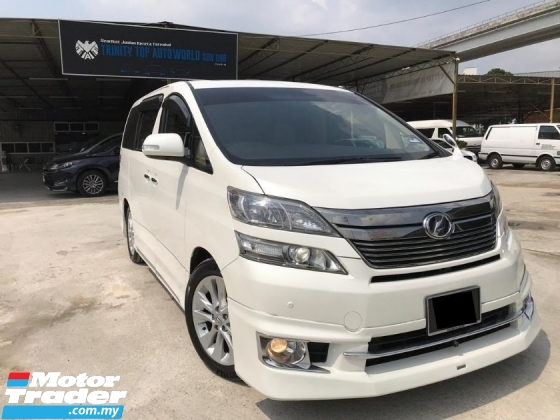 2014 TOYOTA VELLFIRE 3.5 VL EDITION - FULL SPEC - FULL LOADED - PILOT LEATHER SEAT - SUNROOF - 360 SURROUND CAMERA - ELECTRIC MEMORY SEAT - LIKE NEW CAR - WARRRANTY - PROMO RAYA 2020