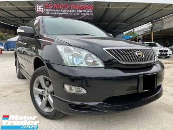 2005 TOYOTA HARRIER 2.4 240G PREMIUM L - HIGH SPEC - SUNROOF - ELECTRIC SEAT - NICE PLATE NO - WARRANTY - END YEAR SALE