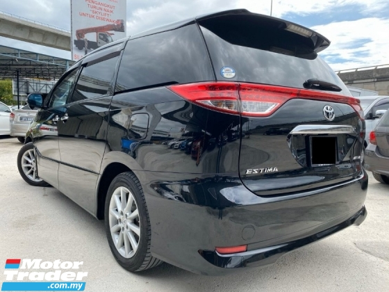 2013 TOYOTA ESTIMA 2.4 AERAS G - FULL SPEC - SUNROOF - 2 POWER DOOR - BLACK INTERIOR - REVERSE CAMERA - LIKE NEW CAR - END YEAR SALE
