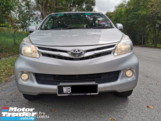 2015 TOYOTA AVANZA 1.5 G SPEC (A) FACELIFT - LIKE NEW ( MUST VIEW)