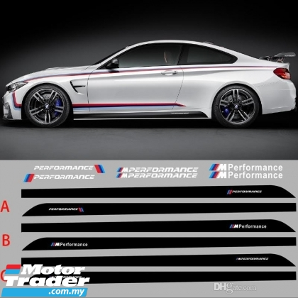 BMW F10 F30 G30 F32 F20 M Performance Side Skirt Sticker  Exterior & Body Parts > Others