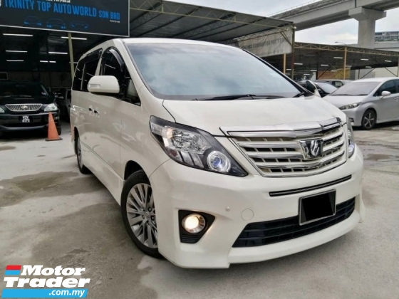 2013 TOYOTA ALPHARD 240S PRIME SELECTION II TYPE GOLD II