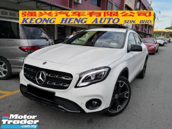 2018 MERCEDES-BENZ GLA 200 Latest New Facelift NIGHT EDITION TRUE YEAR MADE 2018 Mil 12k km only Warranty to June 2022