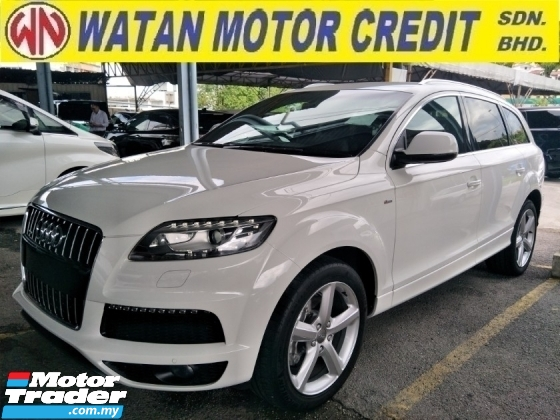 2013 AUDI Q7 3.0 DIESEL SUPERCHARGED 245HP POWER BOOT REVERSE CAMERA FREE WARRANTY
