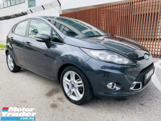 2013 FORD FIESTA FORT FIESTA 1.6 SPORT HATCH BACK 1 SINGLE OWNER