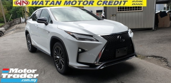 2017 LEXUS RX 200T F SPORT ACTUAL YEAR MAKE 2017 NO HIDDEN CHARGES