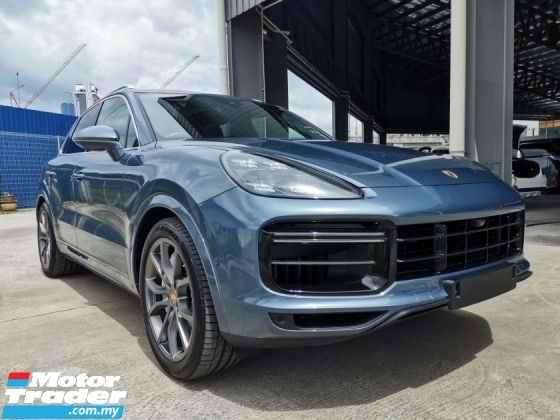 2018 PORSCHE CAYENNE CAYENNE TURBO 4.0 Full Spec Unreg Sale Offer