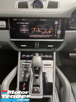 2018 PORSCHE CAYENNE 2018 Porsche Cayenne 4.0 V6 Turbo Facelift Full Spec UK Sport Chrono Panaromic Roof Unregister for sale