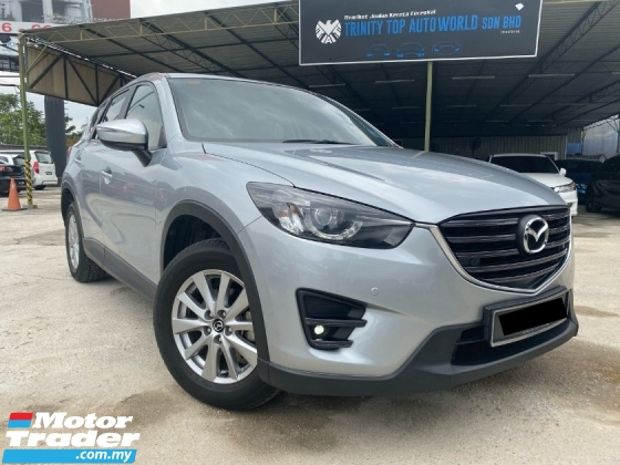 2015 MAZDA CX-5 SKYACTIV 2.5L TURBO POWERFUL ENGINE= FULL SPEC APA PUN ADA= 1 VVIP OWNER = ON TIME SERVICE CAR= MUST VIEW MUST BUY= YES YEAR END SALE