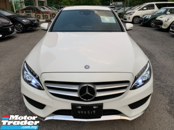 2015 MERCEDES-BENZ C-CLASS C250 AMG DYNAMIC HANDLING JAPAN UNREG 5 YEARS WARRANTY