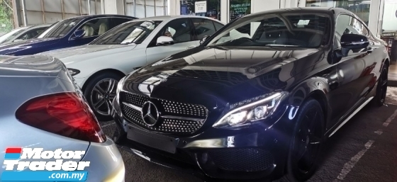 2016 MERCEDES-BENZ C-CLASS C300 2.0 CC AMG FULLSPEC UNREG.INCLUDED SST.TRUE YEAR CAN PROVE.NO HIDDEN CHARGE.PANAROMIC ROOF.ORI AMG BODYKIY N RIM.PADDLE SHIFT.MEMORY SEAT.LEATHER.REVERSE CAM.SPECIAL SOUND SYSTEM.LED LIGHT.PRE CRASH N ETC.FREE WARRANTY N MANY GIFTS
